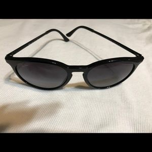 Ray Ban RB4274 Polarized sunglasses in black.
